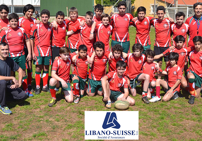 "Libano-Suisse Sponsor of ""Rugby Academy Lebanon"" for the second year"
