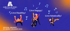 Libano-Suisse continues to support Beirut Holidays, to live healthy, live happy, and live musically
